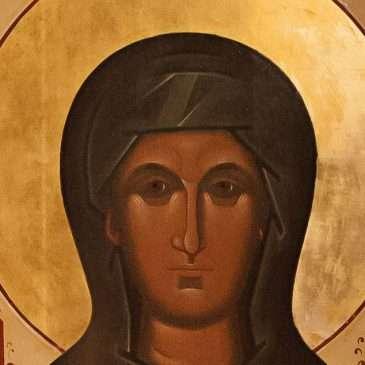 Икона святой Дарии в Холмах