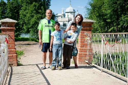 Семейный портрет: семья Ким