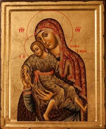 икона Божией Матери Желудёвая (Киккская, Милостивая)