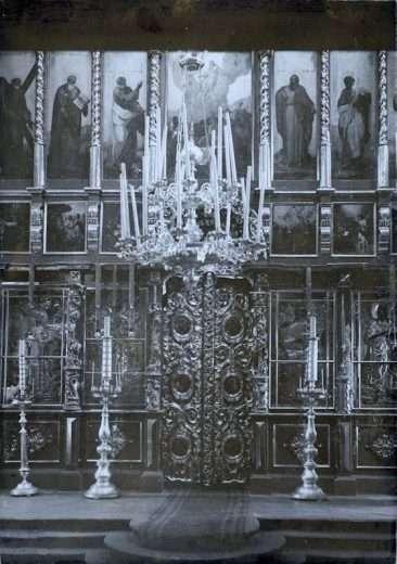 Иконостас Знаменского придела