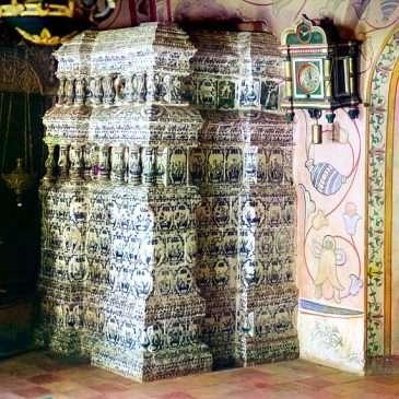 Печи храма