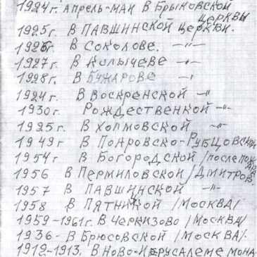 Мученик Михаил в Знаменской церкви