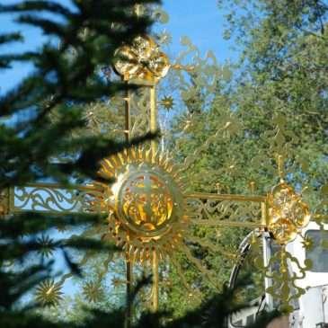Воссоздание Знаменского креста